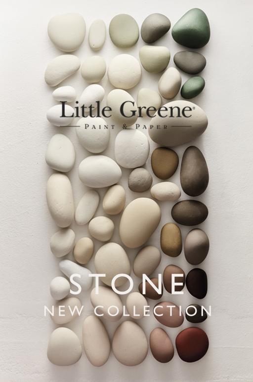 Little Greene new 'Stone' Colours